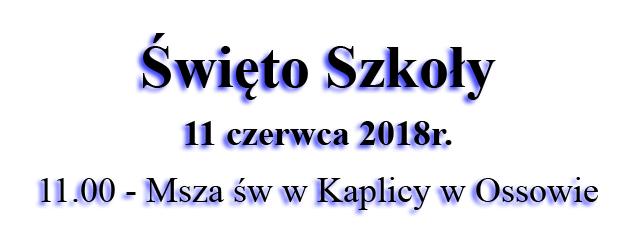 2018 Swięto Szkoły